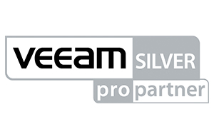 Logo de la certification silver de Veeam obtenue par ASAP