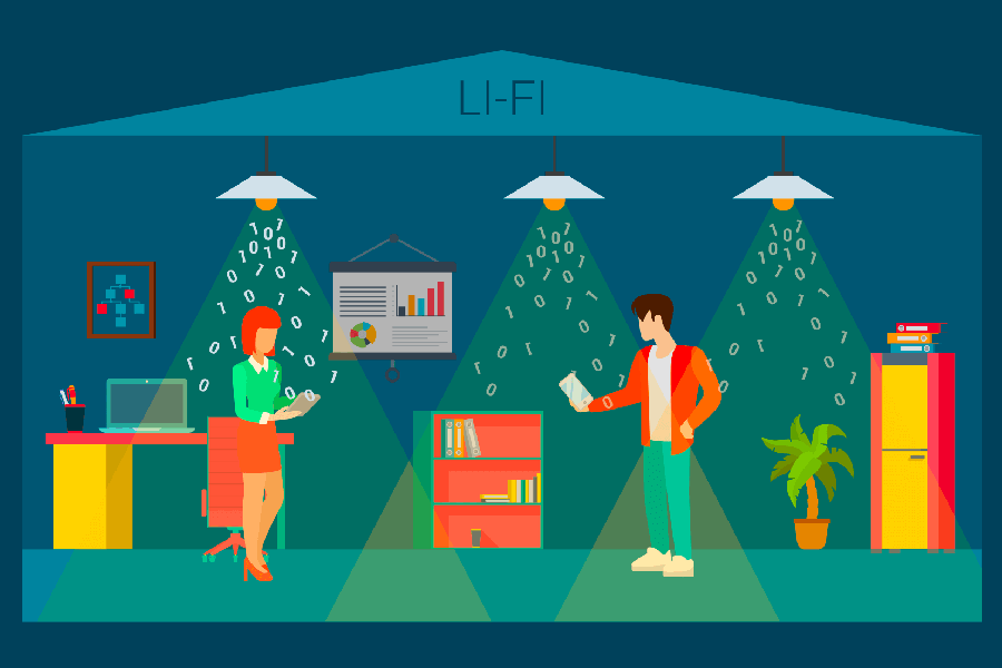 Illustration du lifi
